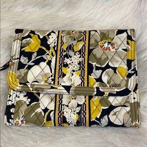 Vera Bradley Travel/ Jewelry Bag. Yellow&Black